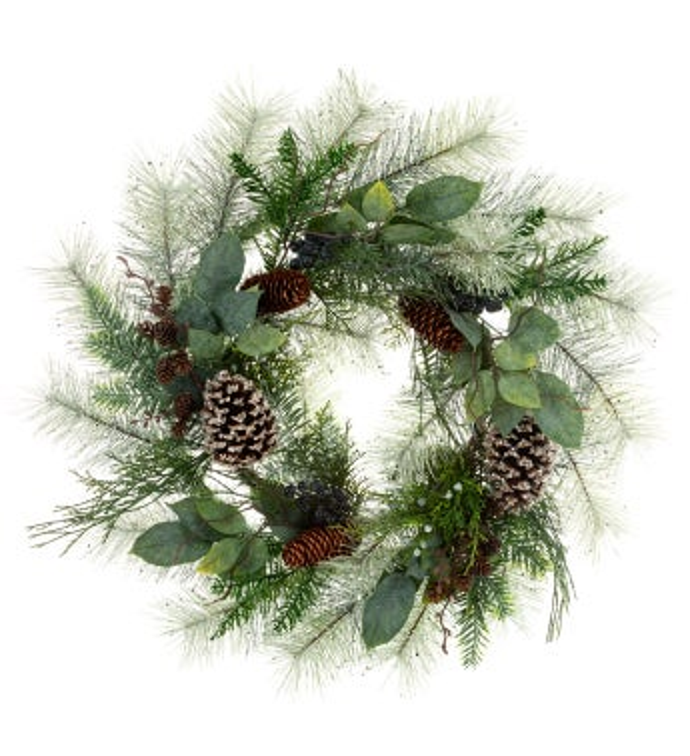 Eucalyptus Berry Fir Wreath
