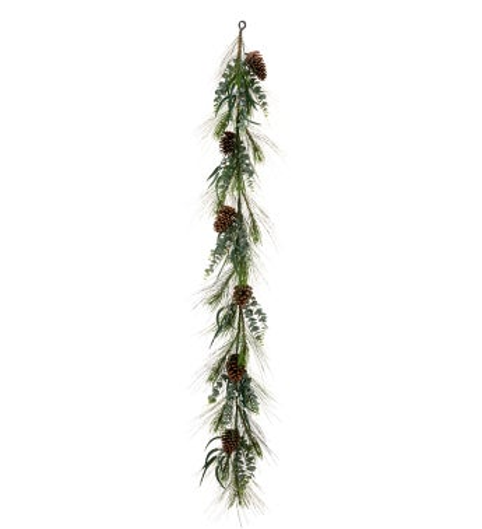 Eucalyptus Pine Cone Garland