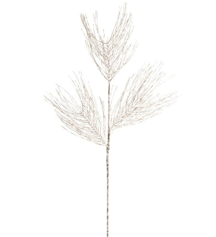 Birch Glitter Pine Branch