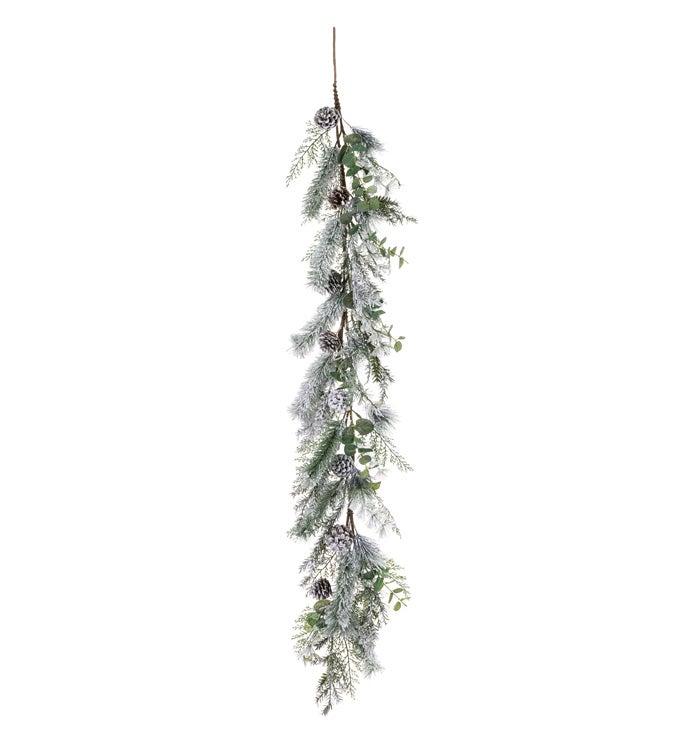 Winter Pine/Eucalyptus Garland