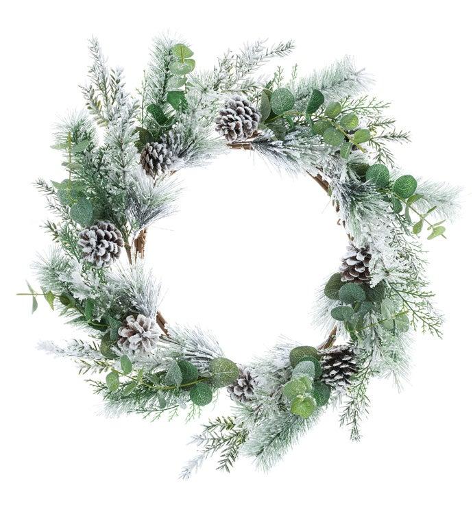 Winter Pine/Eucalyptus Wreath