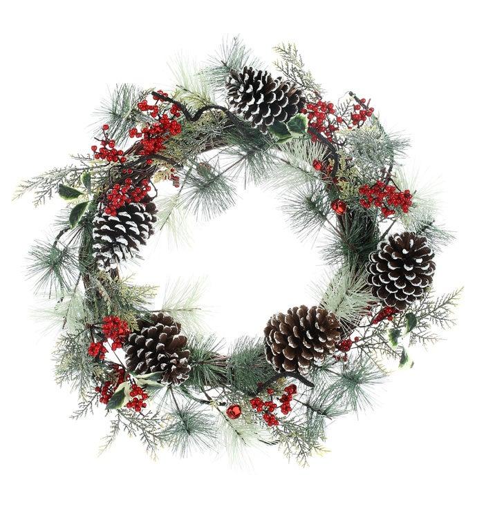 Wintery Pine/Berry Wreath