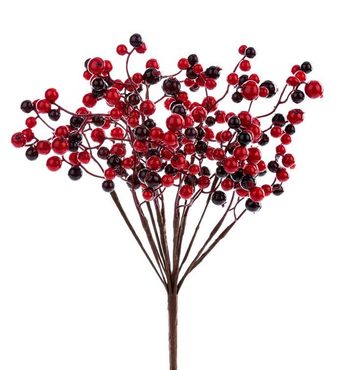 Red/Burgundy Berry Bush