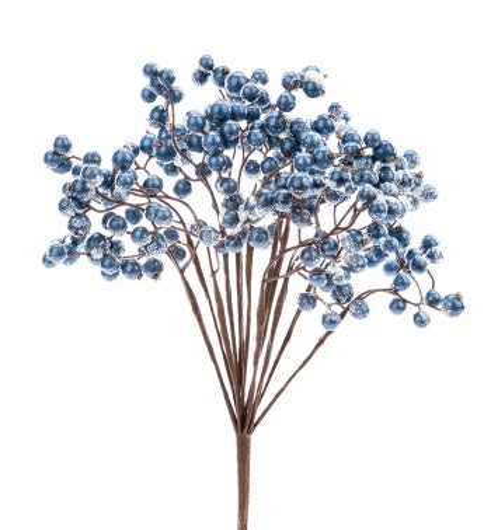 Blue Snow Berry Bush