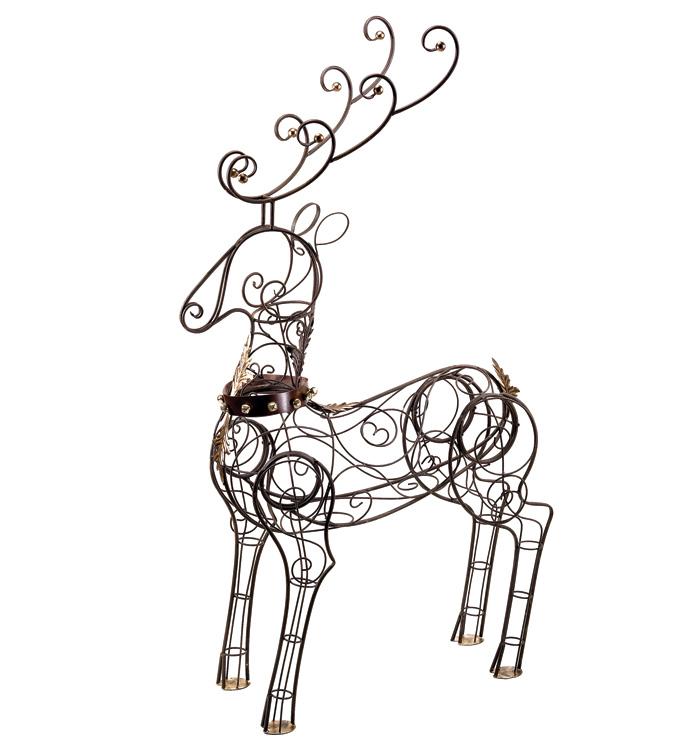 Large Display Reindeer