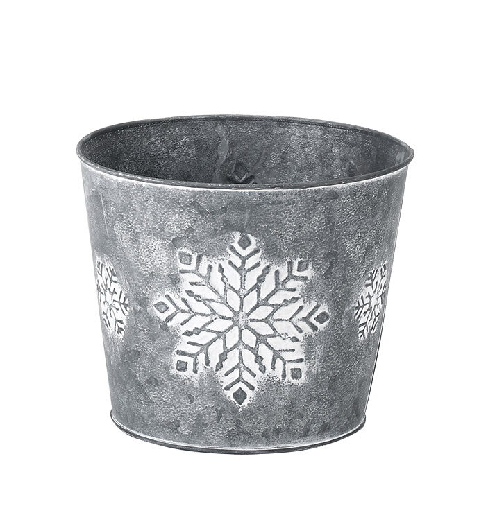 "6.5"" Snowflake Pot Cover"