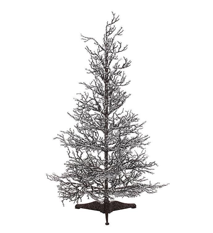 Ice Glitter Twig Tree