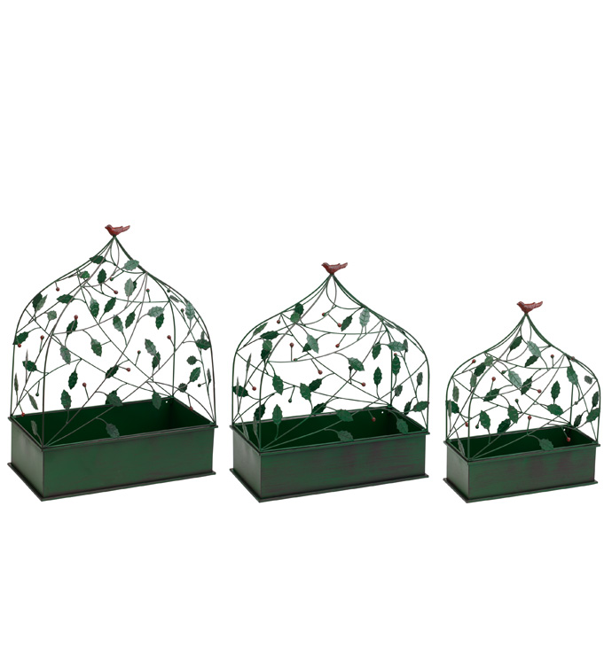 Cardinal Trellis Planter Boxes