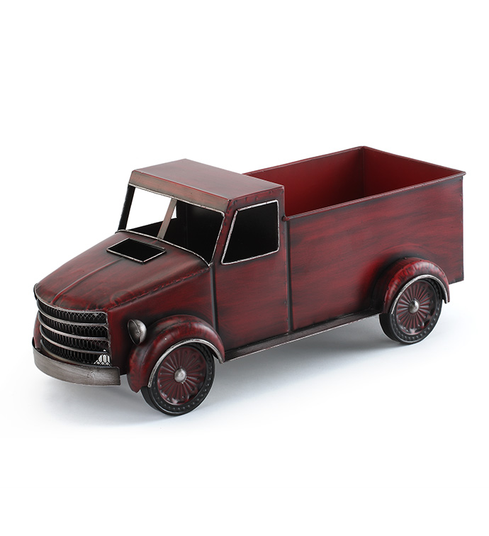 Red Truck Planter