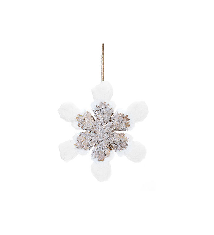 Woodland Snowflake Ornament
