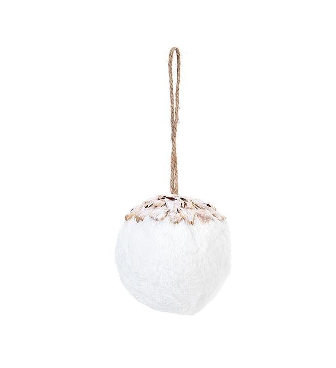 Woodland Snowball Ornament