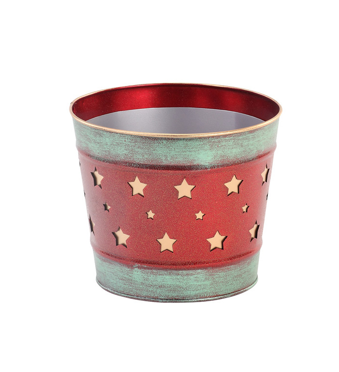 "6.5"" Star Cut Out Pot Cover"