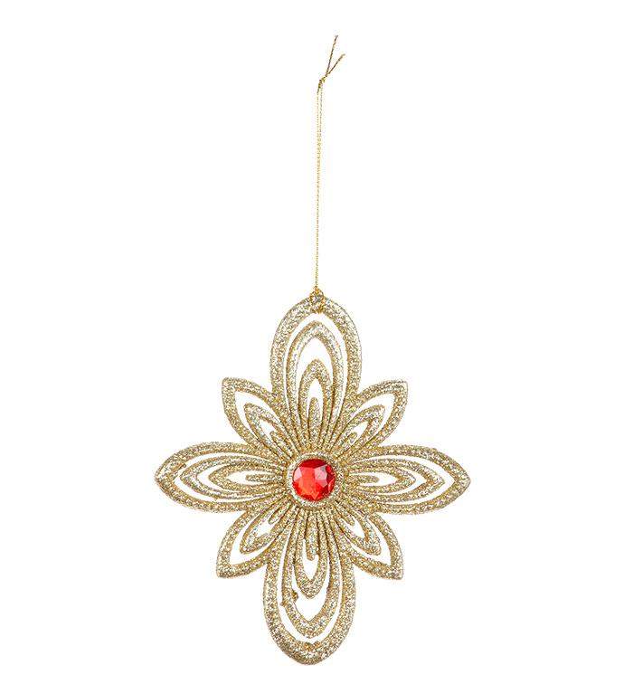 Glitter Jewel Ornament