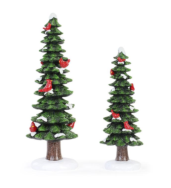 Tree with Cardinals, Set of 2