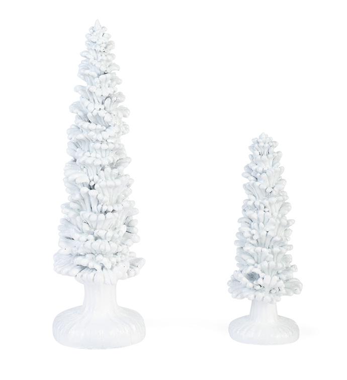 Wintery Tree, Set of 2