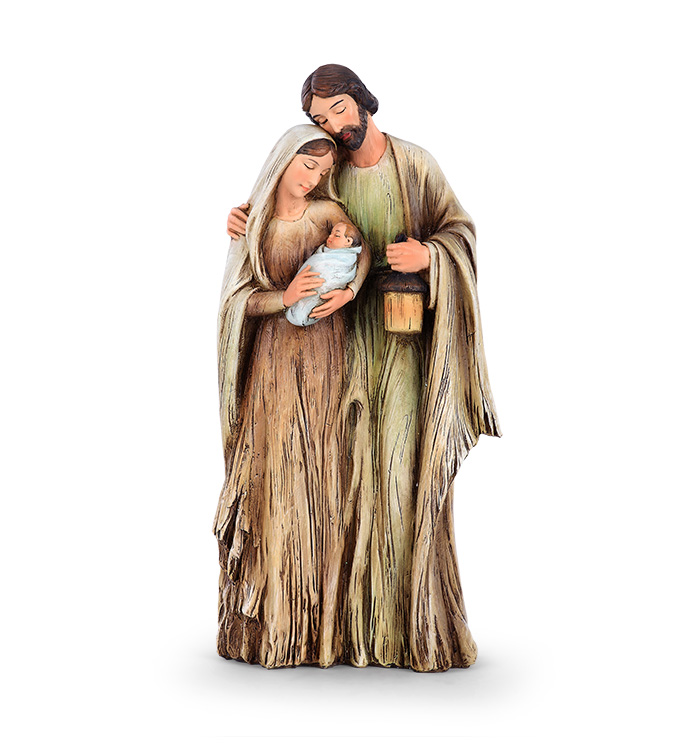 Wood Cut Holy Family