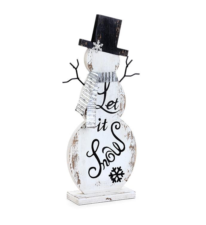 'Let it Snow' Snowman