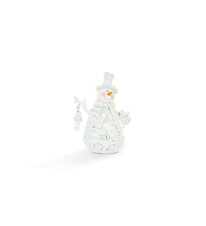 Small Birdhouse Snowman
