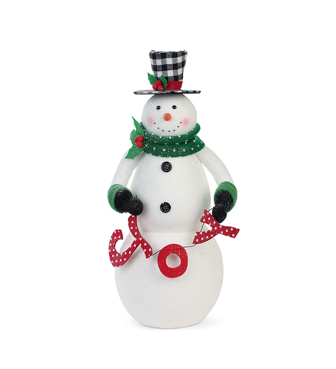 JOY Snowman Figure