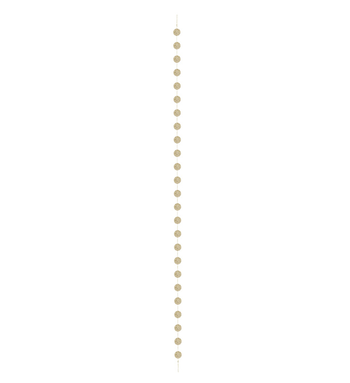 Gold Disc Garland