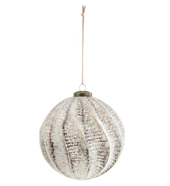 Sugar Distressed Ornament