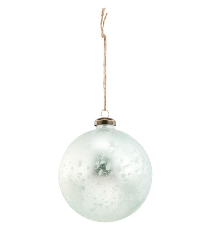 Antique Sage Ball Ornament