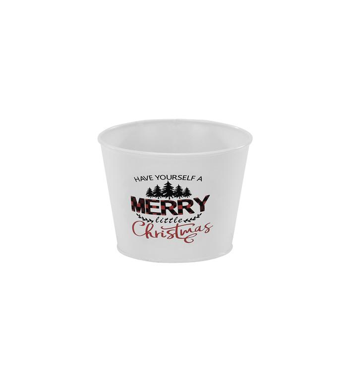 "5"" Merry Christmas Pot Cover"