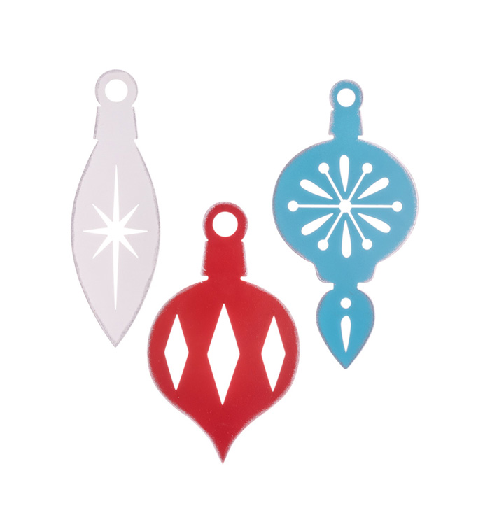 Small Ornaments, 3 Assorted