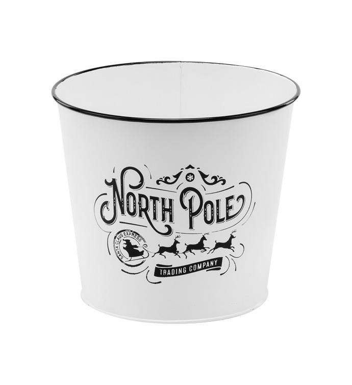 """6.5"""" North Pole Pot Cover"""