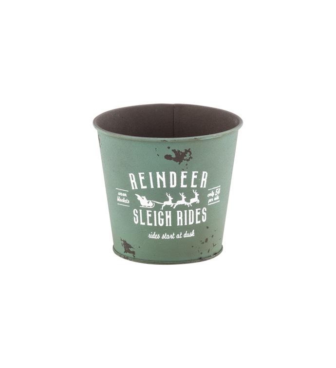 """5"""" Sleigh Rides Pot Cover"""