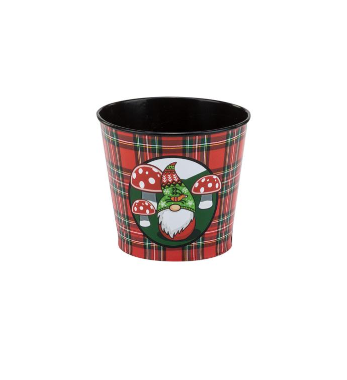 """5"""" Christmas Gnome Pot Cover"""