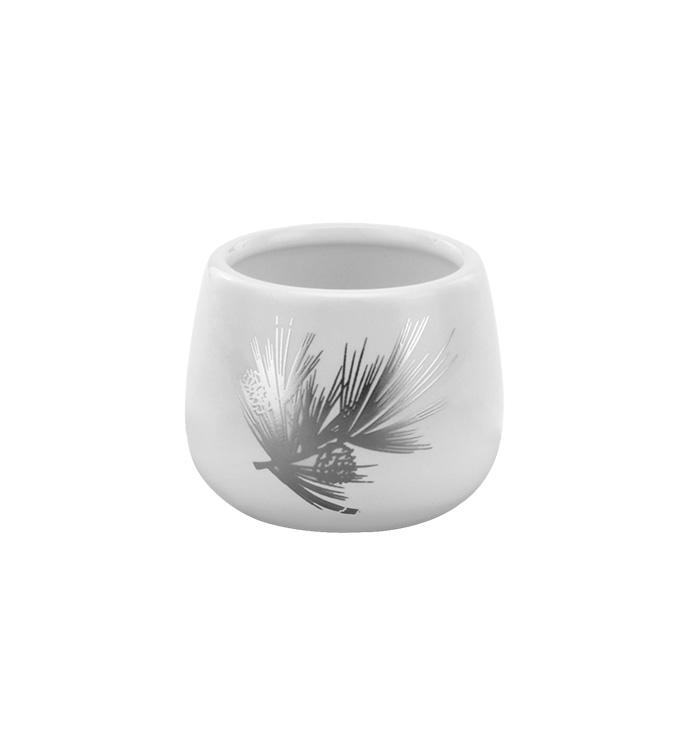 Silver Pine Bough Mini Cache