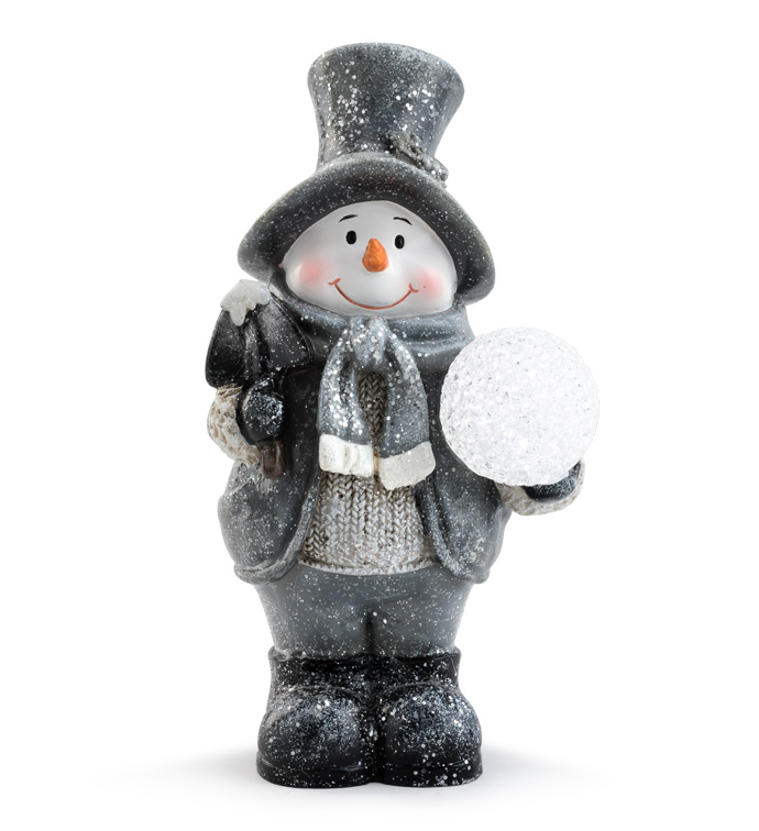 Snowman with Glitter Snowball