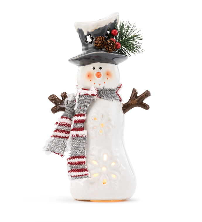 Small Light Up Snowman