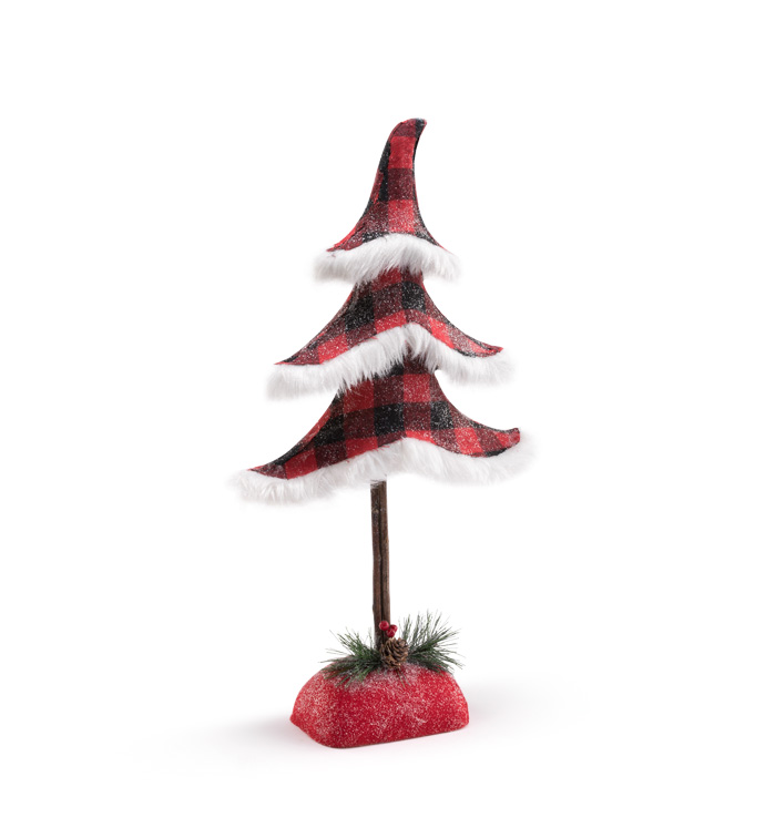 Buffalo Plaid Tree Large
