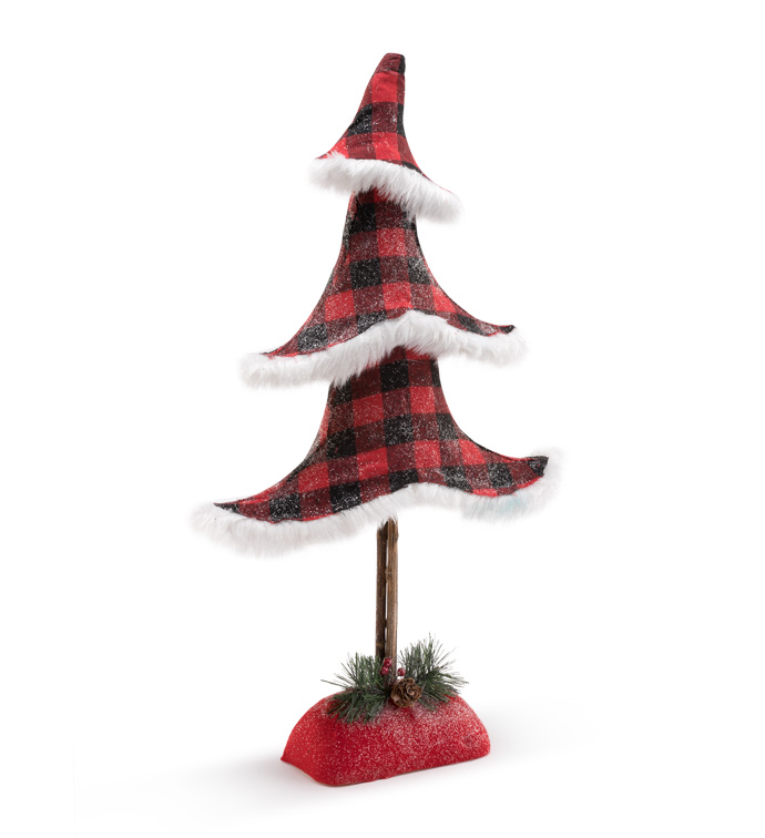 Xlarge Buffalo Plaid Tree