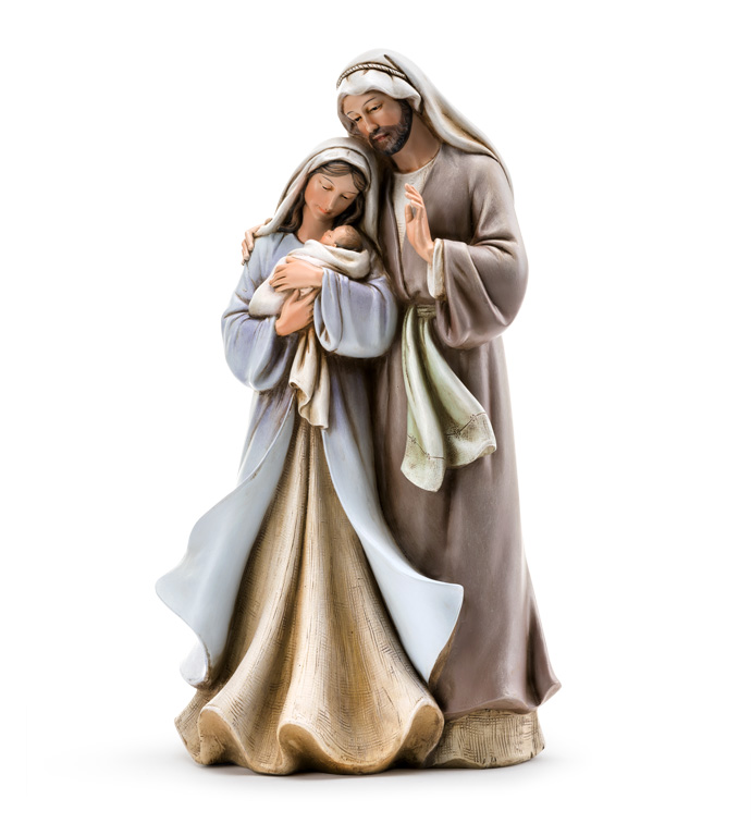 Pastel Standing Holy Family