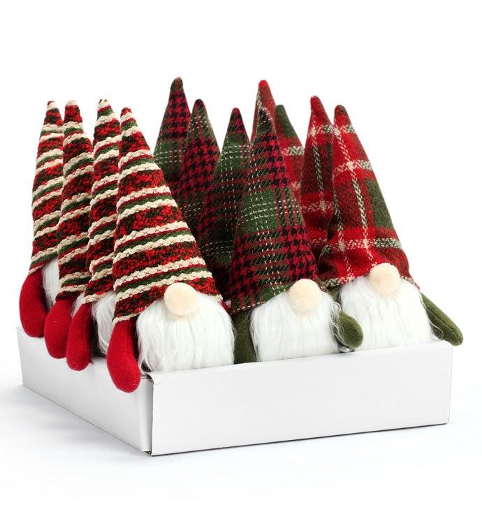 Gnome Ornament, 3 Assorted
