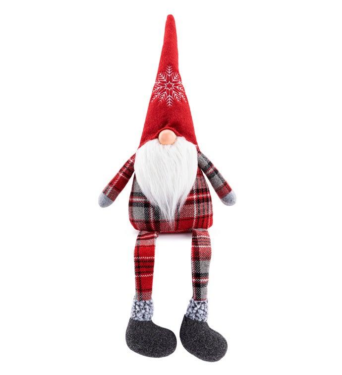 Large Santa Gnome
