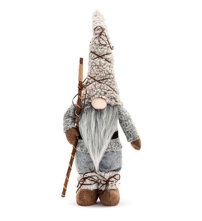 Grey Gnome w/Lantern