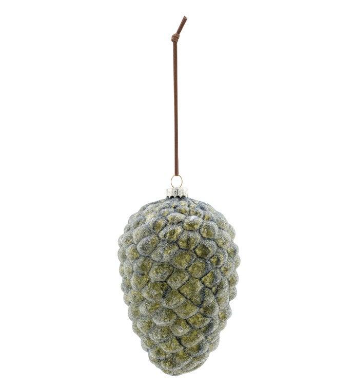 Green Pine Cone Ornament