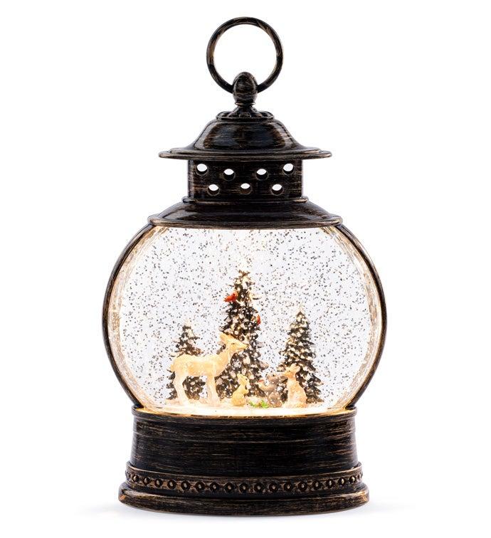 LED Snow Scene Water Globe