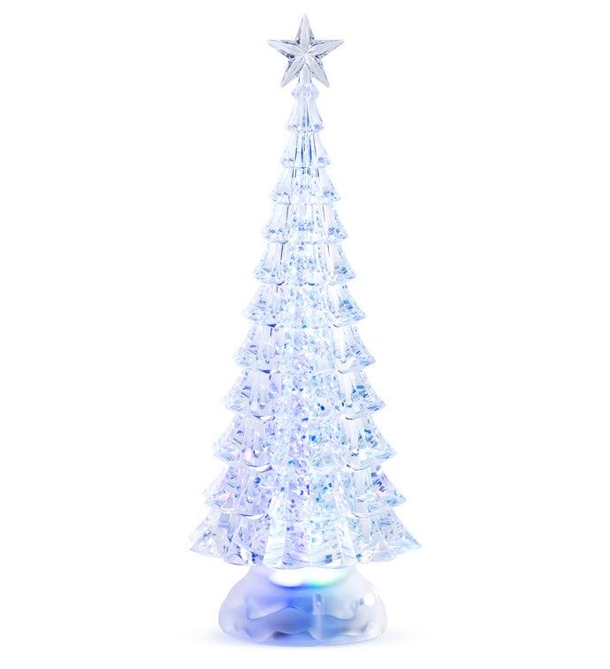 LED Tree Water Globe