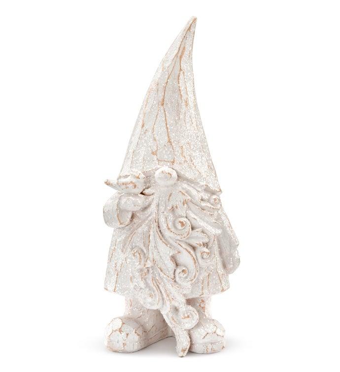 White Wash Gnome