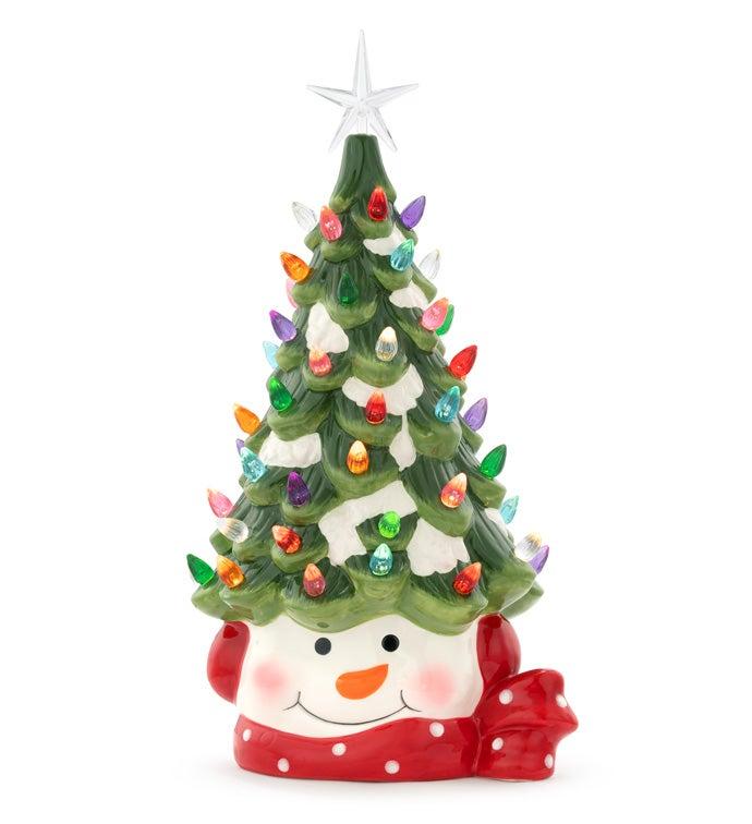 LED Christmas Tree Snowman