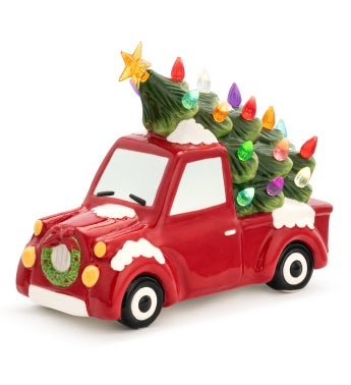 LED Christmas Truck