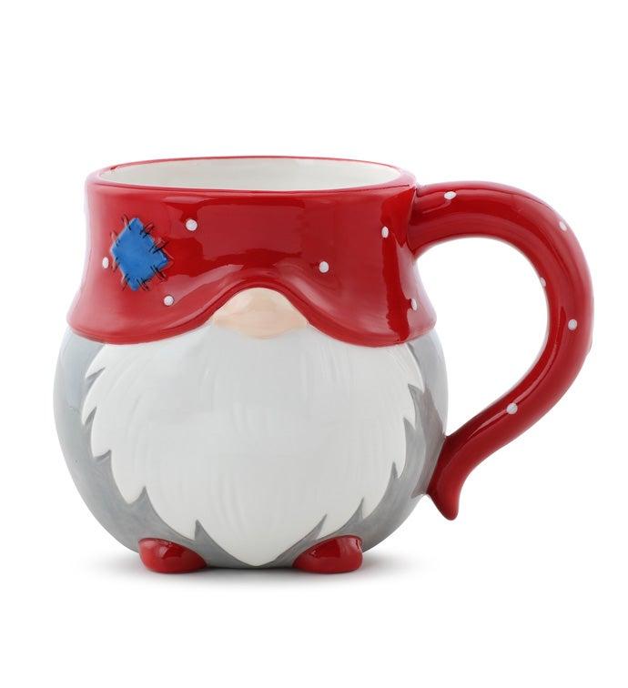 Decorative Gnome Mug Planter