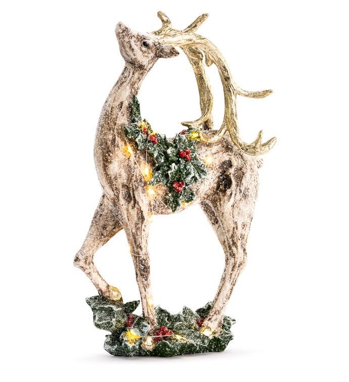 LED Standing Reindeer