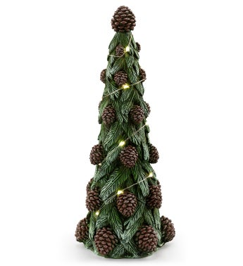 LED Tree with Cones