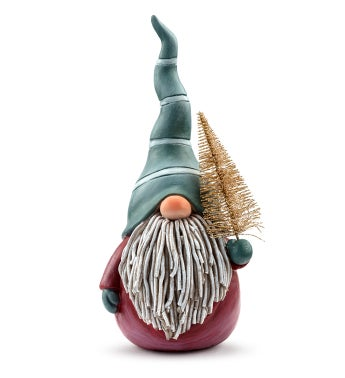 Gnome with Tree